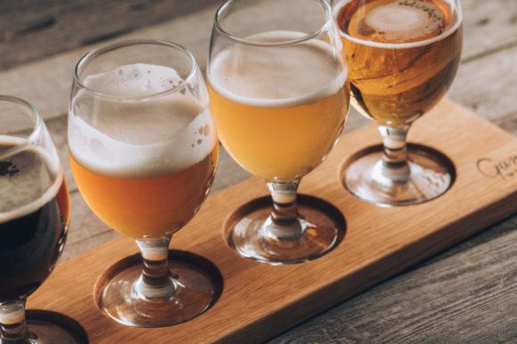 Доска для подачи пива Wonderful life