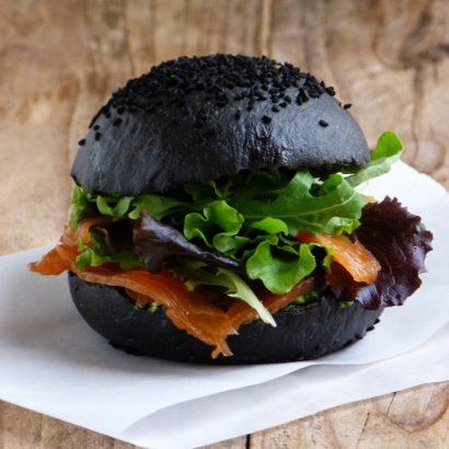 Рецепт черного бургера 15
