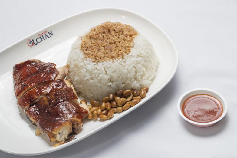 Рис у курицей гриль