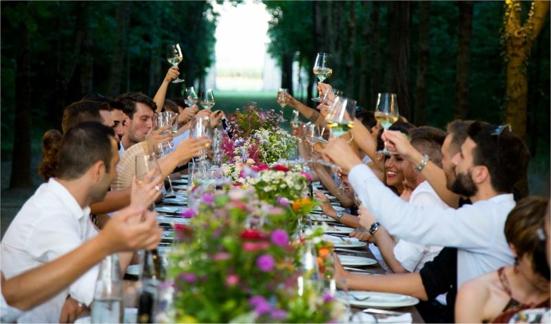вечеринки, оформление вечеринки, вечеринка на улице, советы по оформлению, сервировка, оформление стола