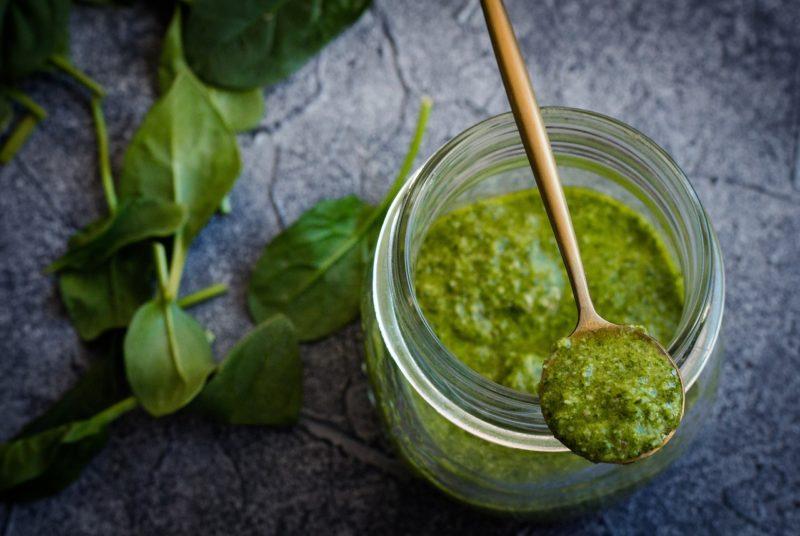 соусы для стейка, зелёные соусы, соусы из зелени