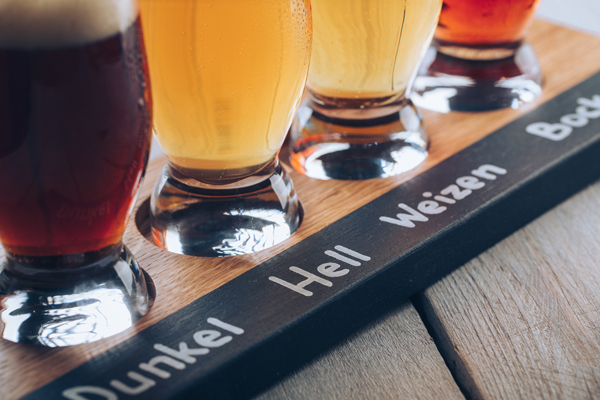 доски для напитков, подача напитков, пивные сеты, доски для ресторанов, доски пиво, доски gunswood